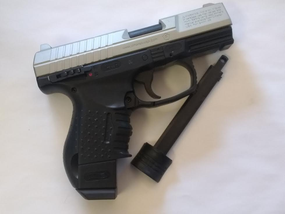 WALTHER CP99 COMPACT TWO-TONE BB GUN BLOWBACK CO2 PISTOL