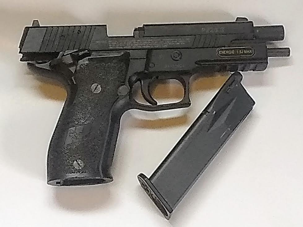 SIG SAUER X-FIVE BB GUN CO2 BLOW BACK