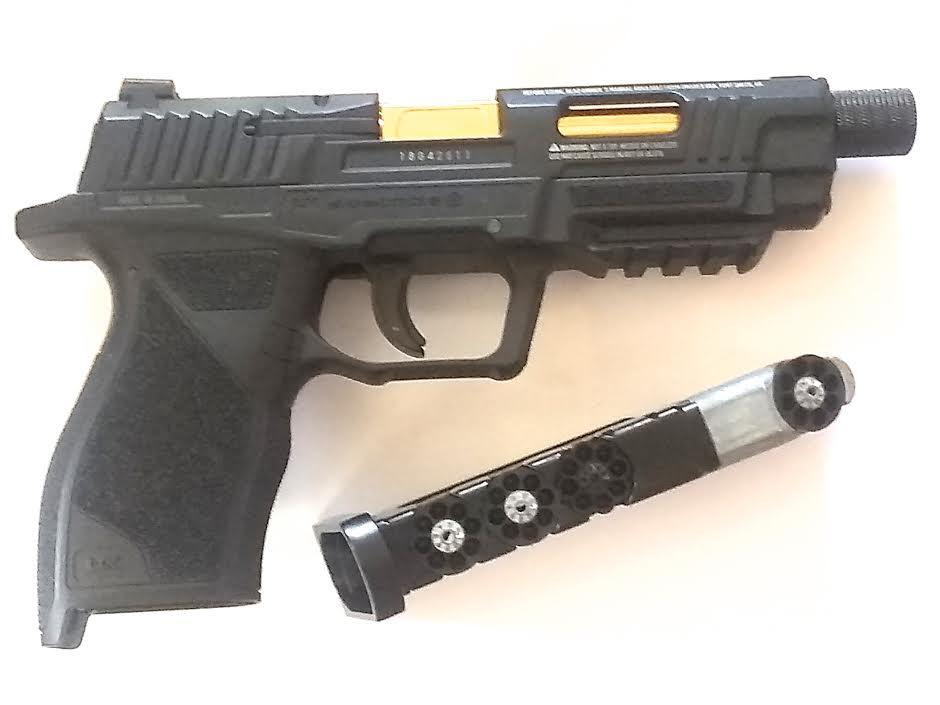 UMAREX SA10 .177 BB GUN PISTOL AIRGUN GOLD-STYLE BARREL