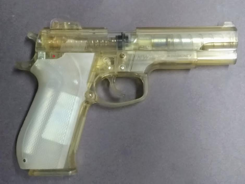 SMITH & WESSON 45 SPRING PISTOL CLEAR