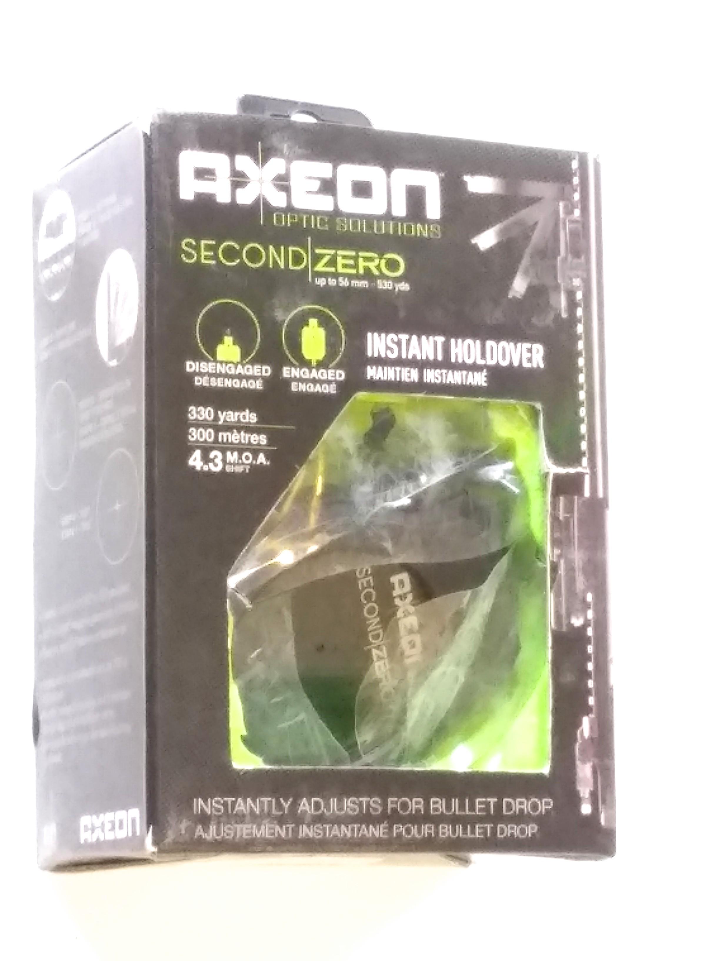 Axeon Optics Second Zero 4.3 MOA - Bell Mount 50mm