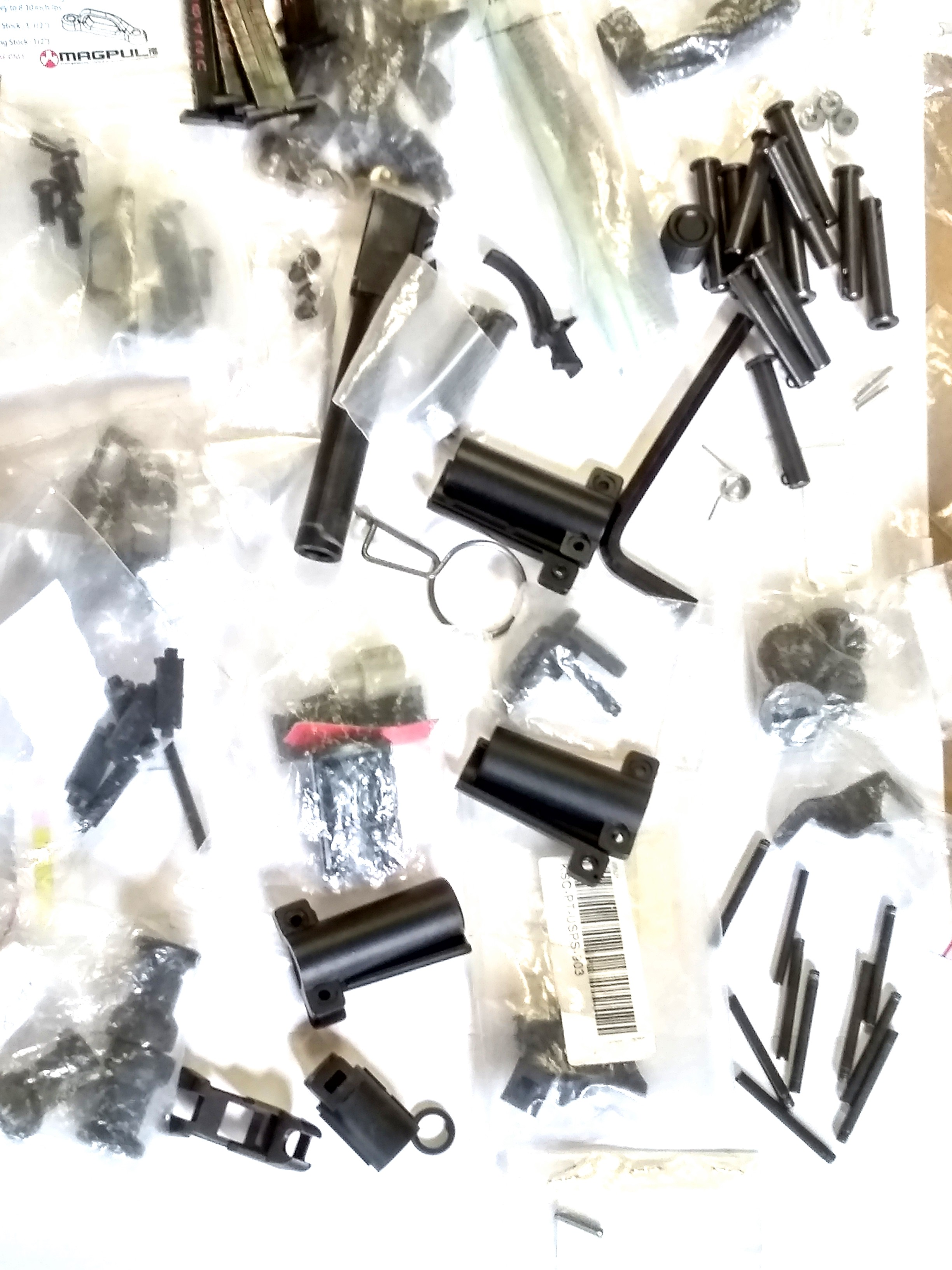 VARIETY OF CYBERGUN AIRSOFT PARTS