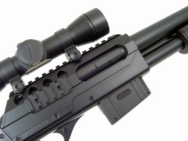 DE M47A1 Shot Gun w/Full Stock & Accessories