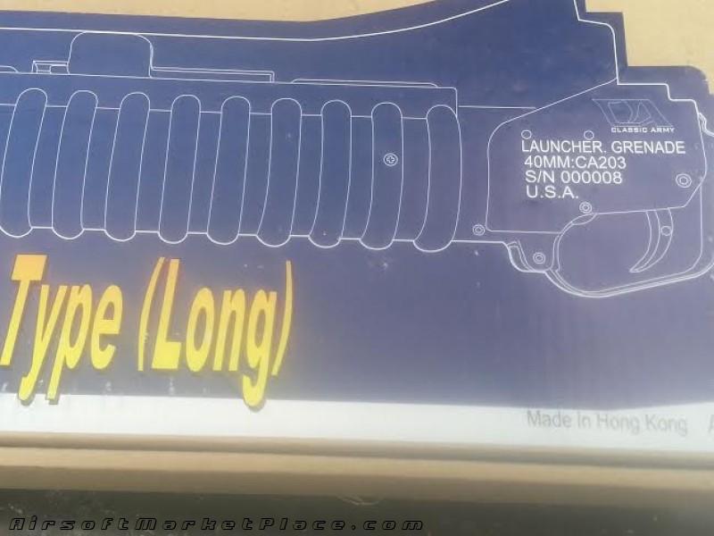 M203 GRENADE LAUNCHER LONG