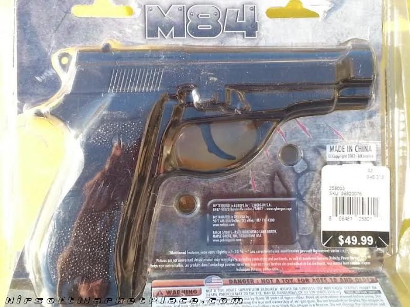 Blackwater M84 CO2 BB Pistol