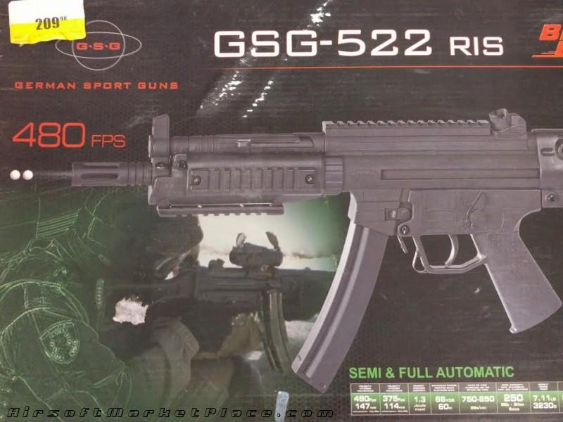 GSG-522 RIS METAL AEG BB USED
