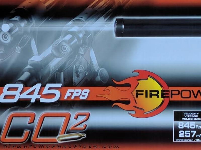 SAR10 CO2 SNIPER RIFLE 845 FPS
