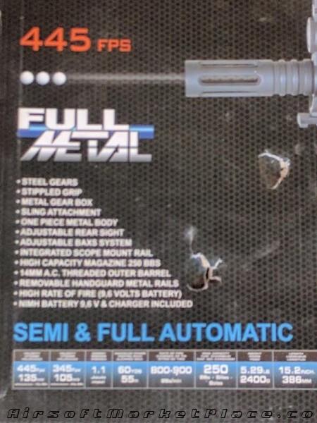 GSG-522 PK FULL METAL AEG