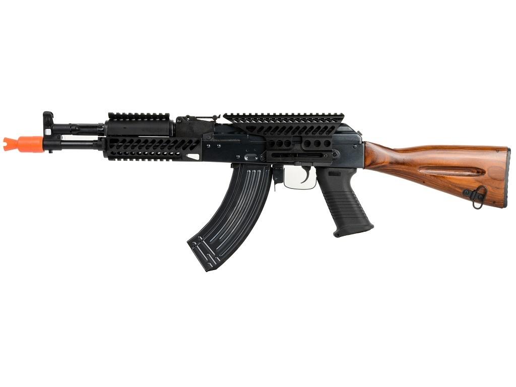 Spartan AK74-N TAC RIS MOD A w/ Real Wood AEG, by E&L