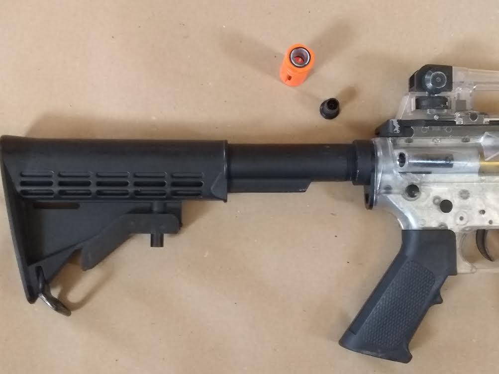 KING ARMS M4A1 CARBINE CLEAR AEG