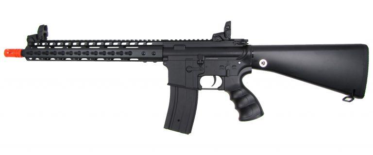 GOLDEN EAGLE M16 Metal RIS w/Keymod Hand Guard /Full Stock