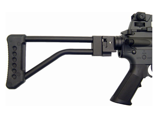 JG M4 Commando M733 w/Metal Side Folding Stock AEG