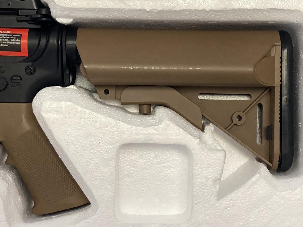 COLT M4A1 CQBR AEG DARK EATH