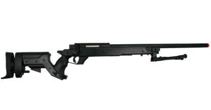 WELL AWM APS2 Bolt Action Spring Sniper Rifle w/Metal Bi-pod
